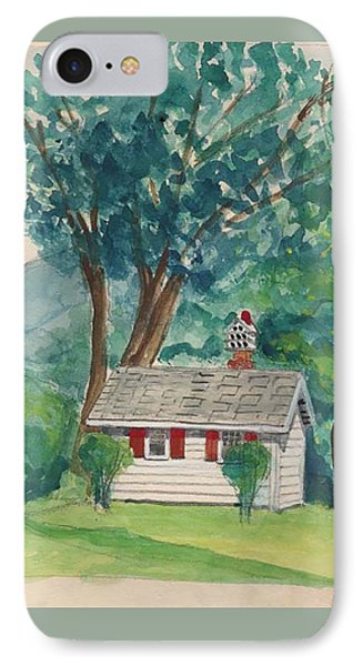 Sauna At Murray Hollow Phone Case by Fred Jinkins