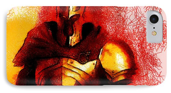 Sauron In Living Form IPhone Case by Mario Carini