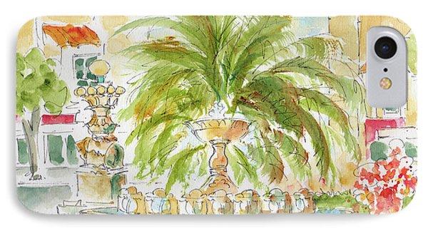 Sausalito Fountain IPhone Case by Pat Katz