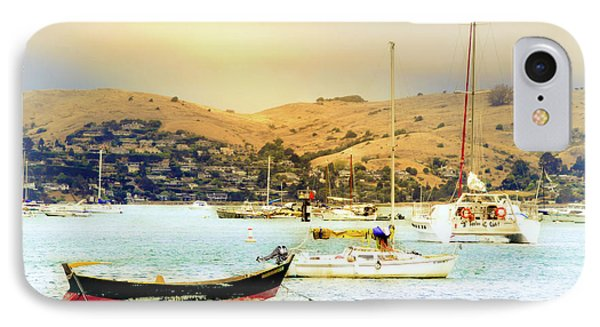 Sausalito Sailboats IPhone Case by Laura DAddona