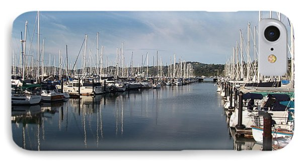 Sausalito Yacht Harbor - The Best Harbor In The San Francisco Bay Area. IPhone Case by Rich Bertolina