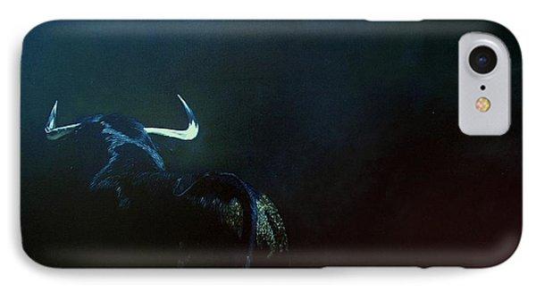 Savage Bull IPhone Case by Jean Yves Crispo