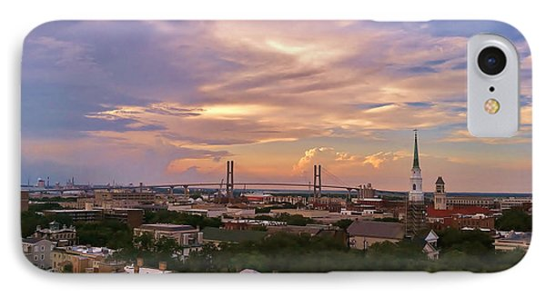 Savannah At Sunset IPhone Case by Marilyn Carlyle Greiner