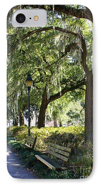 Savannah Benches Phone Case by Carol Groenen