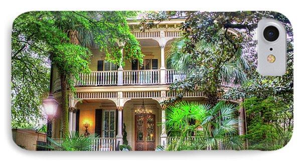 Savannah Historic House IPhone Case by Mark Andrew Thomas