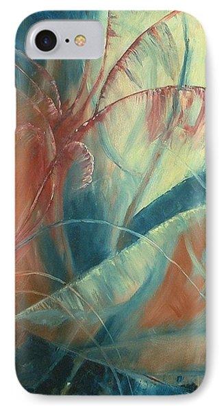 IPhone Case featuring the painting Savannah by Renate Nadi Wesley