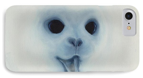 IPhone Case featuring the painting Save The Baby Seals by Annemeet Hasidi- van der Leij