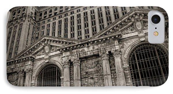 Save The Depot - Michigan Central Station Corktown - Detroit Michigan IPhone Case by Gordon Dean II