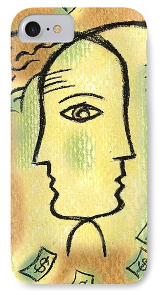 Savings IPhone Case by Leon Zernitsky