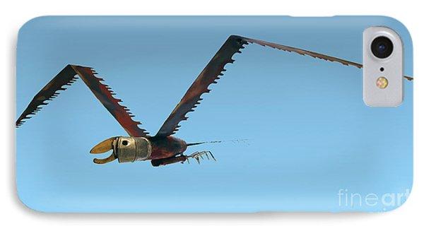 Saw Bird -raptor IPhone Case by Bill Thomson