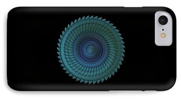 IPhone Case featuring the digital art Sawblade by Lyle Hatch