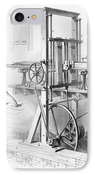 Sawmill. From Cyclopaedia Of Useful IPhone Case