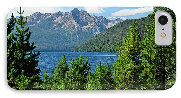 Sawtooth Serenity II Phone Case by Greg Norrell