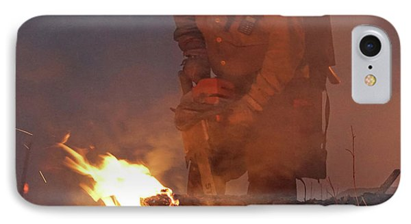 Sawyer, North Pole Fire IPhone Case