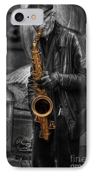 Sax Love IPhone Case by Yhun Suarez