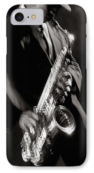 Sax Man 1 IPhone Case