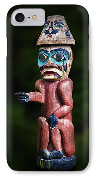 Saxmon Watchman IPhone Case by Gary Warnimont
