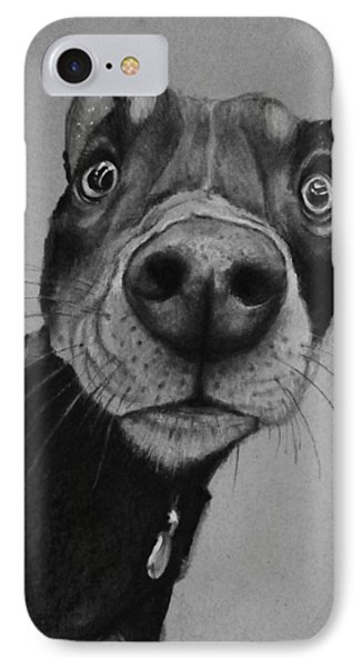 Say What?  IPhone Case by Jean Cormier
