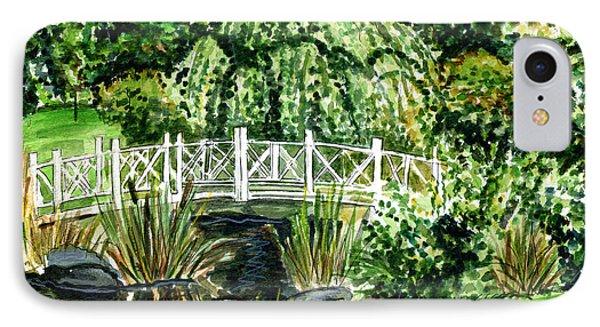 Sayen Bridge IPhone Case by Clara Sue Beym