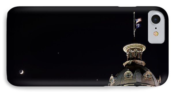 Sc State House Dome And Conjunction IPhone Case