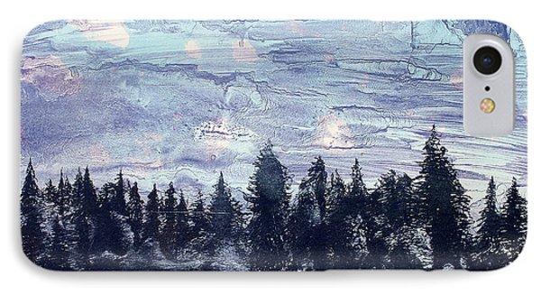 Scandinavian Nights IPhone Case by Arthur Deaville