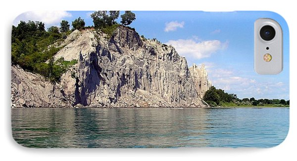 Scarborough Bluffs-lake View IPhone Case by Susan  Dimitrakopoulos