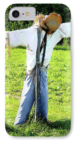 Scarecrow Phone Case by Susan Savad