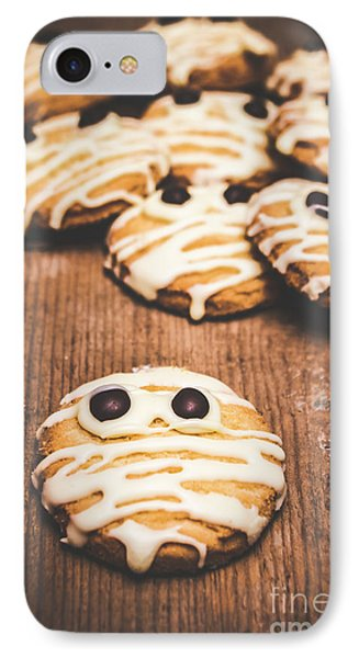 Scared Baking Mummy Biscuit IPhone Case by Jorgo Photography - Wall Art Gallery