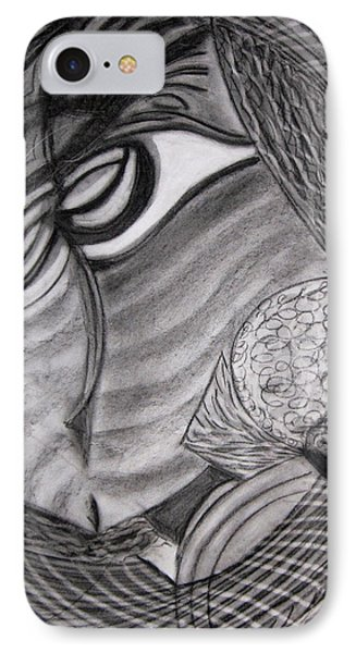 Scarf IPhone Case by Patricia Cleasby