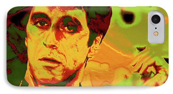 Scarface 7e IPhone Case by Brian Reaves
