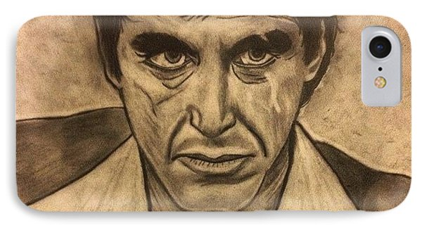 Scarface IPhone Case by Andrew Rich