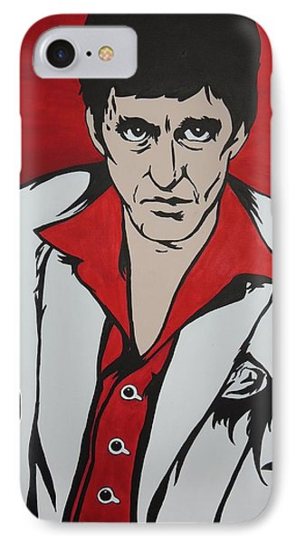Scarface Painting - Best Offer IPhone Case by Stephanie Robayo