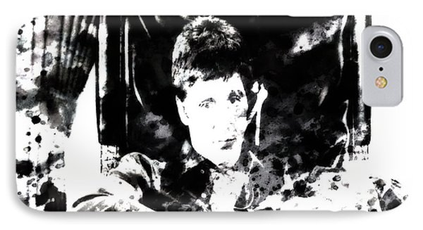 Scarface Reflects IPhone Case by Brian Reaves