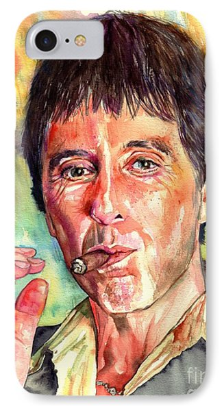 Harlem iPhone 7 Case - Scarface by Suzann's Art