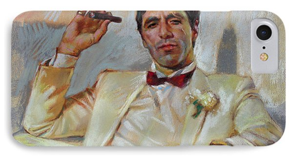 Scarface Phone Case by Ylli Haruni