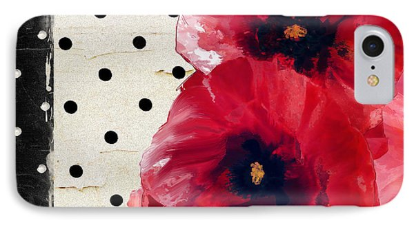 Scarlet Poppies IPhone Case by Mindy Sommers