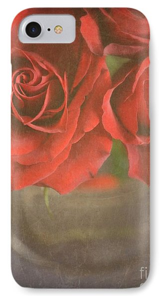 IPhone Case featuring the photograph Scarlet Roses by Lyn Randle