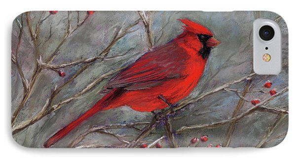 Scarlet Sentinel IPhone Case