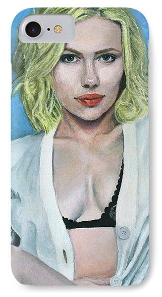 Scarlett Johansson IPhone Case