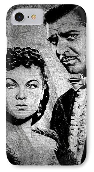 Scarlett O Hara And Rhett Butler IPhone Case