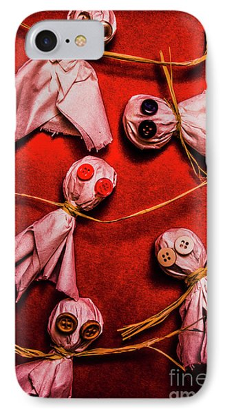 Scary Halloween Lollipop Ghosts IPhone Case