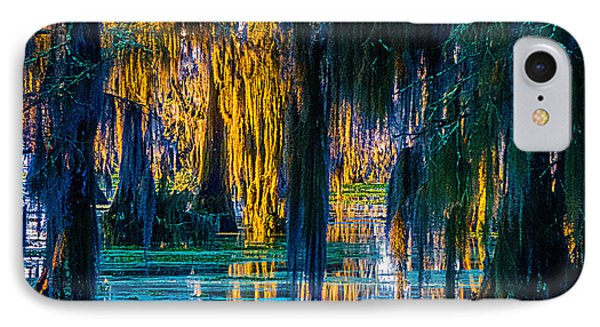Scary Swamp In The Daytime IPhone Case by Kimo Fernandez
