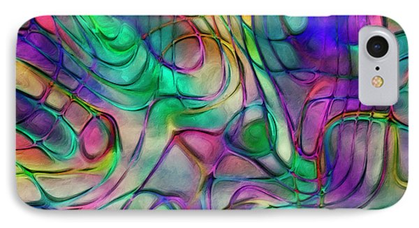 Scattered Rainbow IPhone Case by Jack Zulli