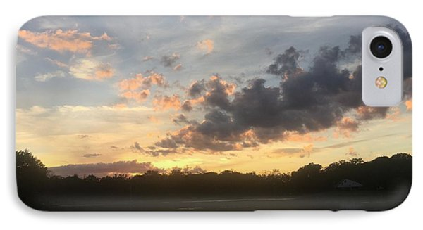 Scattered Sunset Clouds IPhone Case