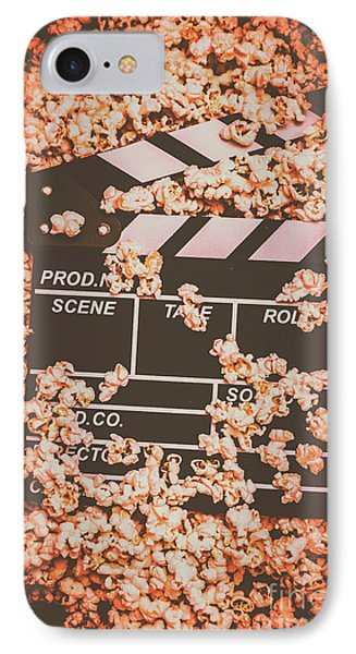 Scene From A Film Production IPhone Case by Jorgo Photography - Wall Art Gallery