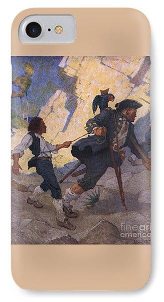 Scene From Treasure Island IPhone Case
