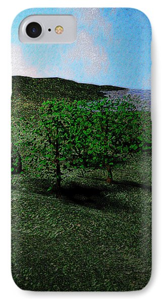 Scenery IPhone Case by James Barnes