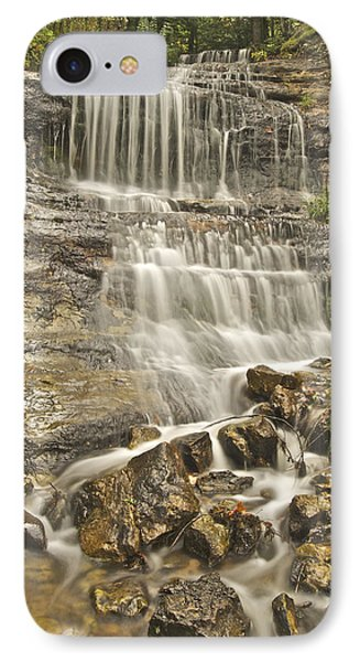 Scenic Alger Falls  Phone Case by Michael Peychich