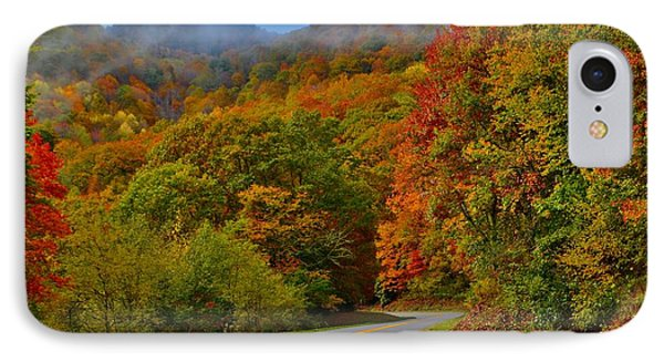 Scenic Drive IPhone Case by Dennis Nelson