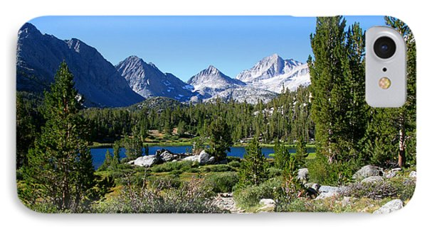 Scenic Mountain View Phone Case by Chris Brannen